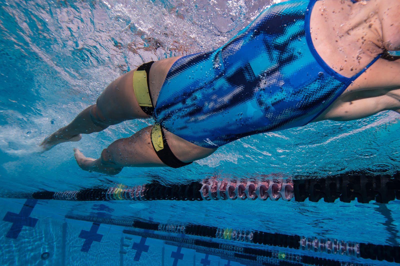 Okklusionsbånd bliver brugt til svømning